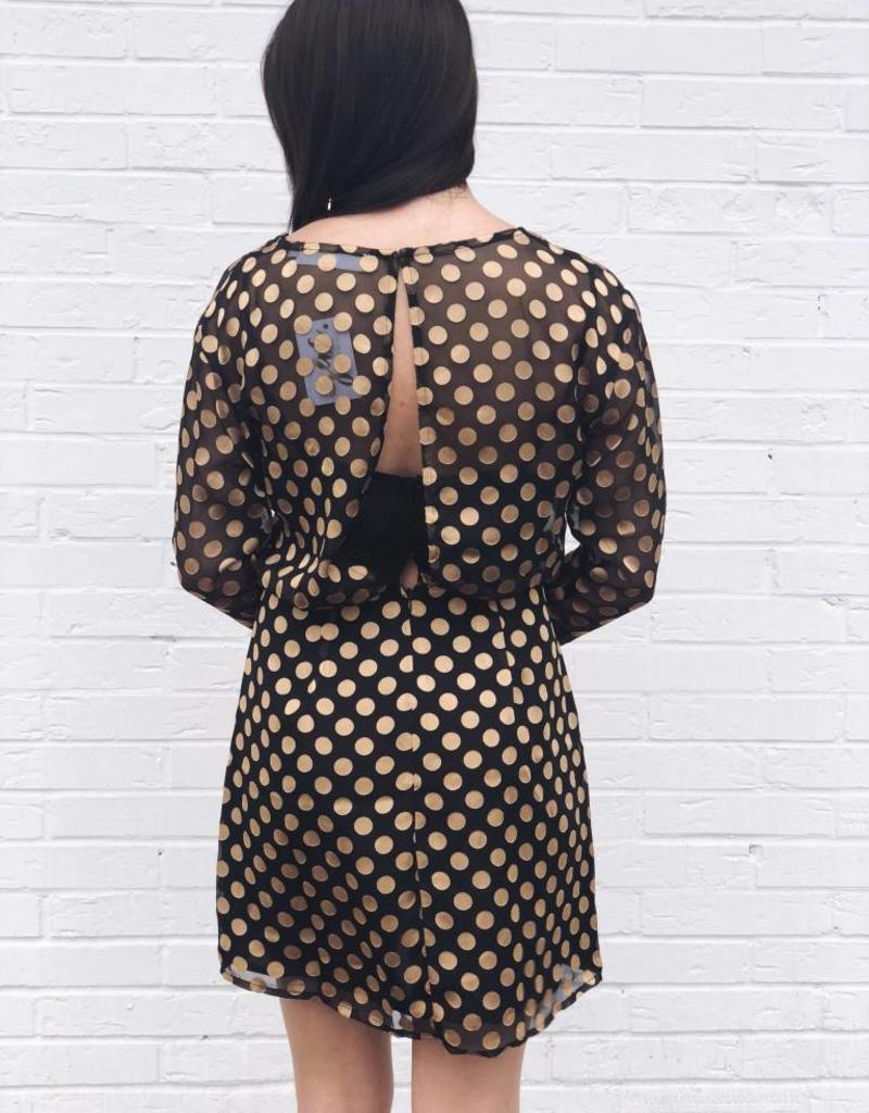 So Hot Polka Dot Dress
