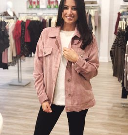On The Go Jacket Mauve