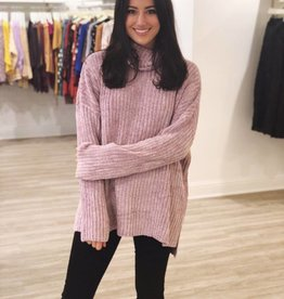 Lilac Love Sweater