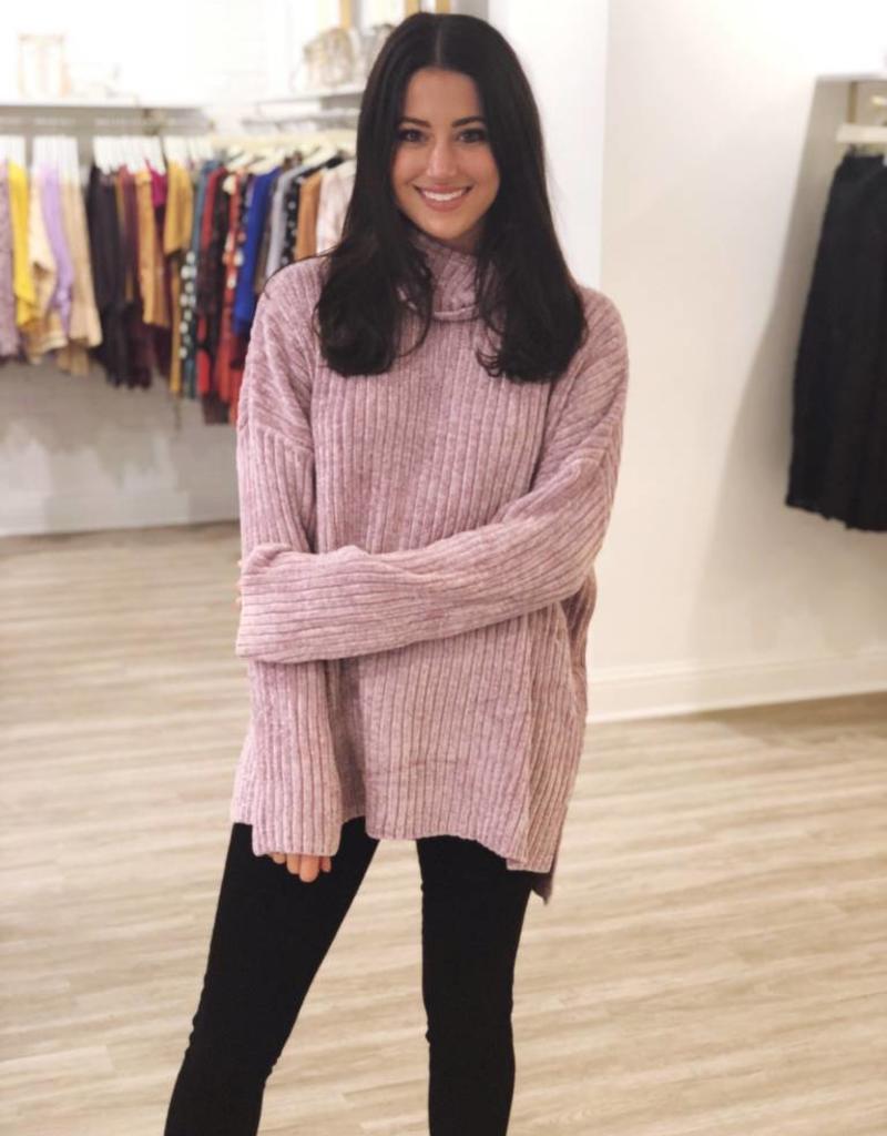 Lilac Love Sweater