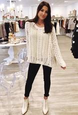 Yay For Crochet Sweater Cream