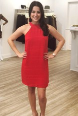 Lost + Wander Scorpion Mini Dress Red