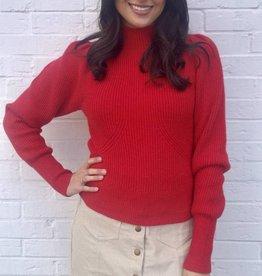 Xoxo Sweater Red