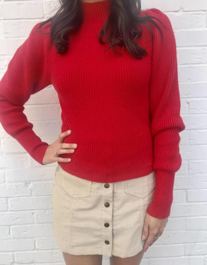 Xoxo Sweater Red
