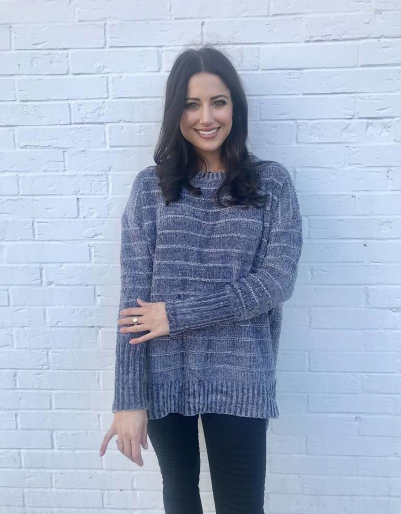 Snuggle is Real Sweater Grey