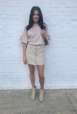Cozy Corduroy Skirt