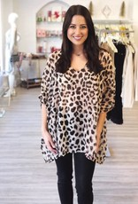 Wild For This Tunic Top Leopard