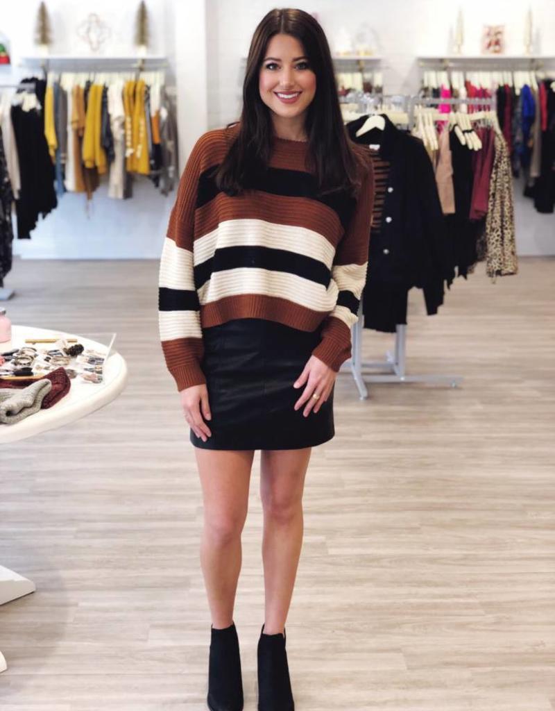 Fashionably Latte Sweater