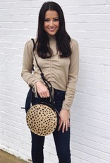 Spotted in New York Circle Crossbody Purse