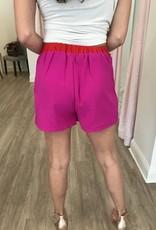 Double The Fun Shorts Magenta