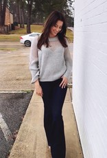 Heavenly Sweater Grey
