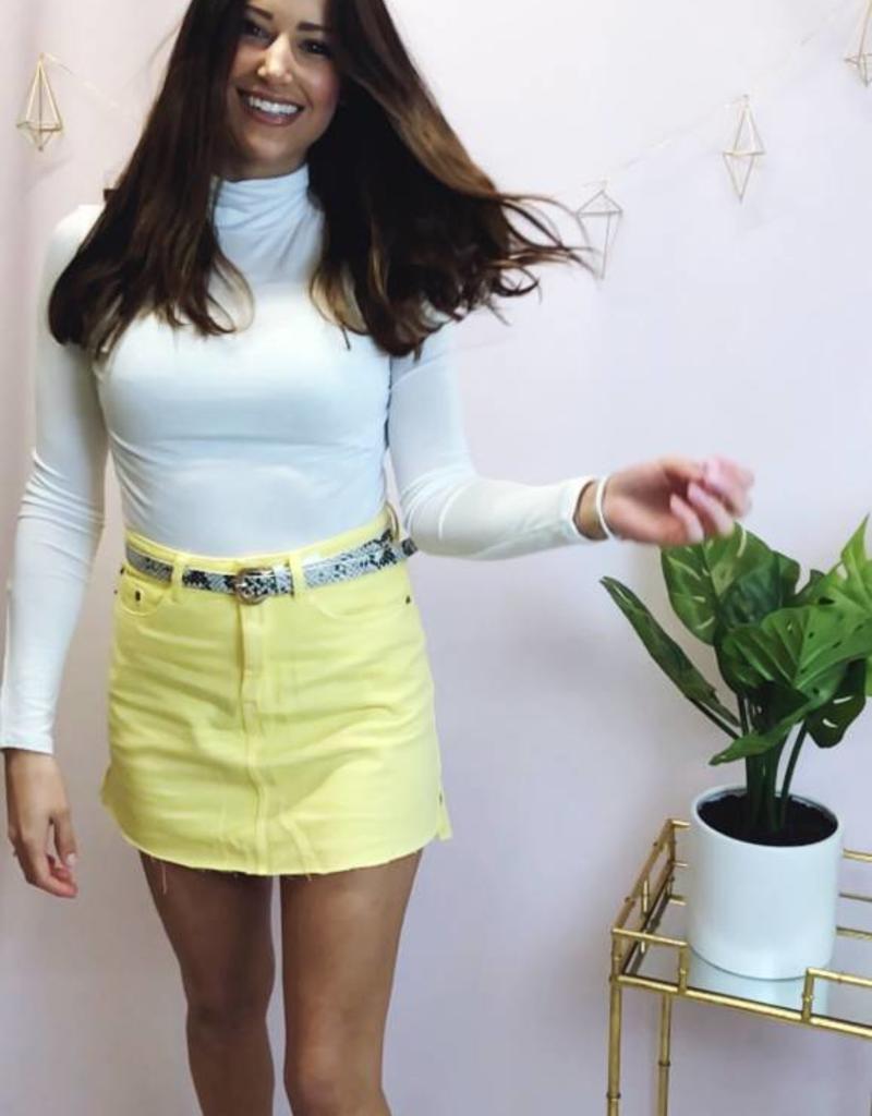 Lemon Drop Skirt