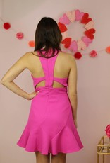 Play The Party Dress Hot Pink