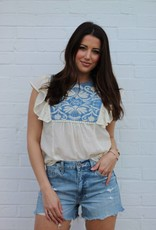 Denim Doll Top