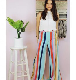 Light & Airy Pants Aqua