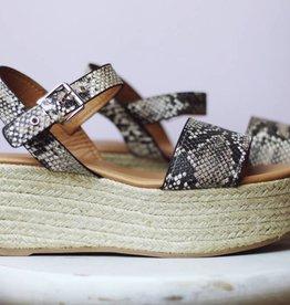 Stella Shoes Big Bang Snake Flatform