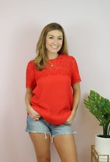Red-y Or Not Top