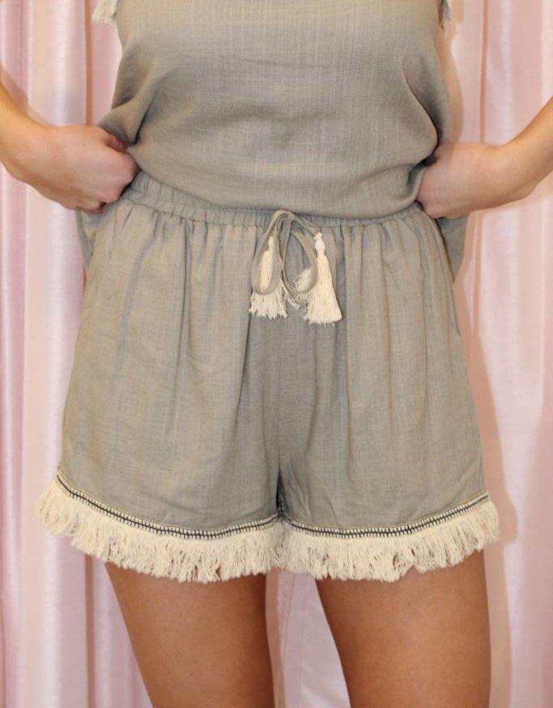 Sahara Shorts Cement