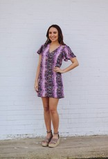 Buddy Love Hailey Purple Haze Dress