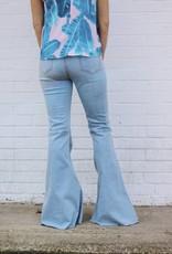 Buddy Love Moonshine Light Wash Flare Jean