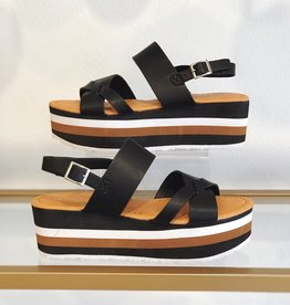 Grace Your Style Brixton Wedges Black