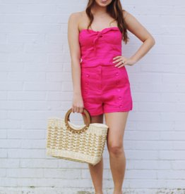 Elle Shorts Hot Pink