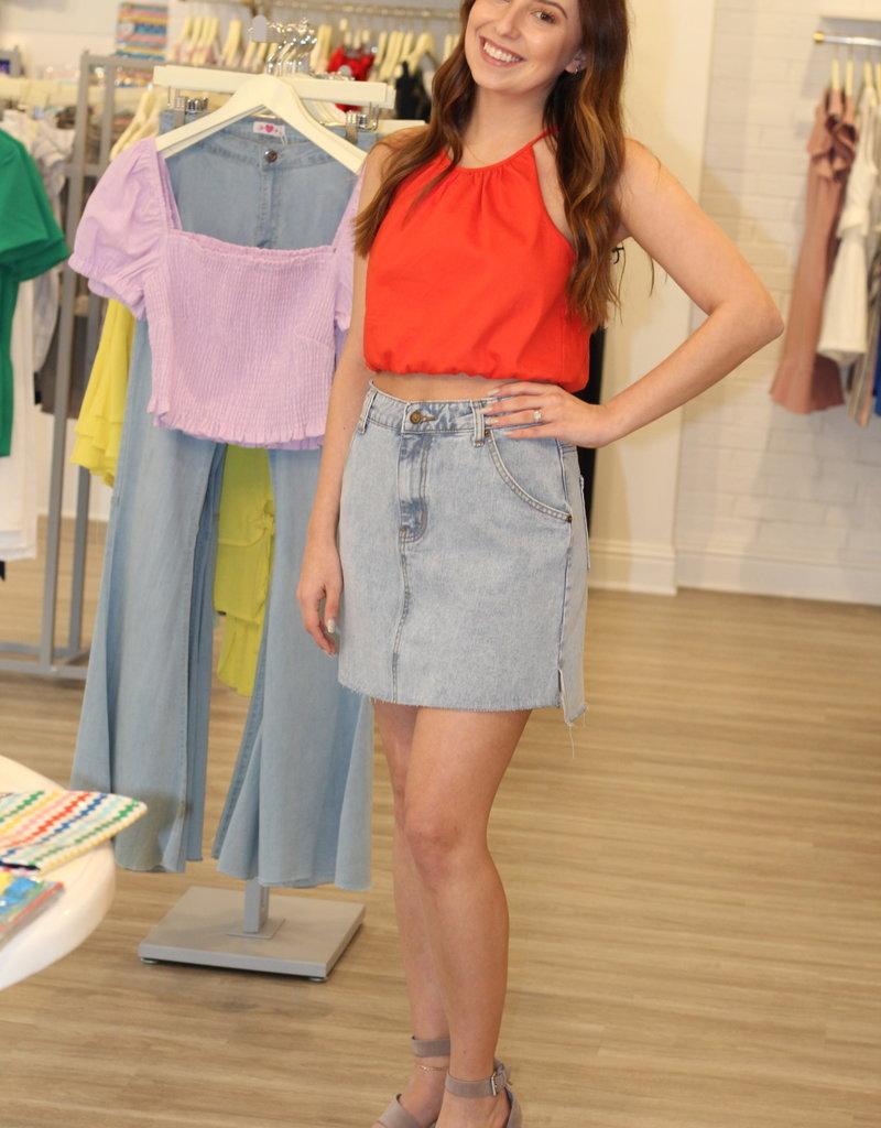 Sophia Denim Skirt