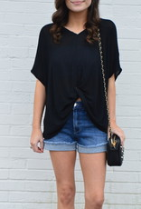 Bellflower Top Black