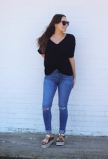 Sneak Peek Veronica High Rise Ankle Skinny