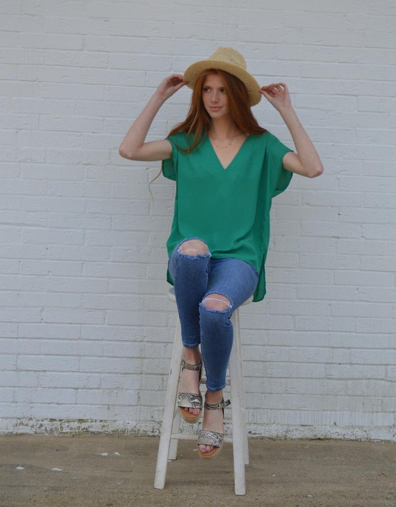 Green Queen Top