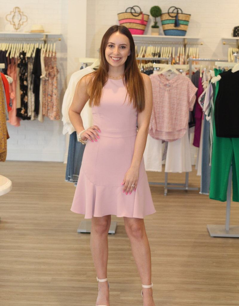 Adelyn Rae  Perfectly Pink Dress