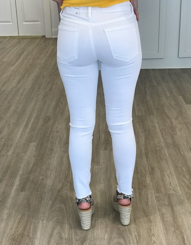Hem Destruction Skinny White