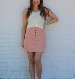 Sassy Salmon Skirt
