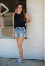 Lucy Lou Top Navy
