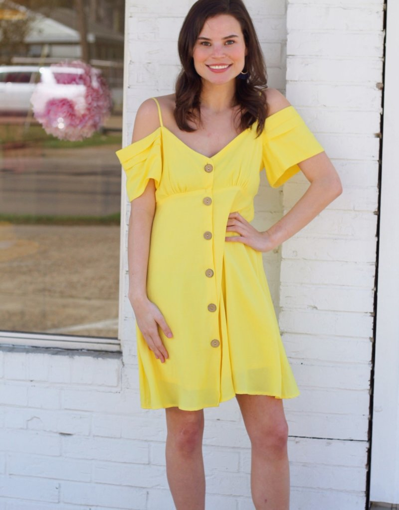 Mellow Yellow Dress