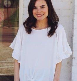 Amelia Top Off White