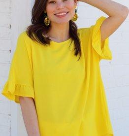 Capri Top Yellow