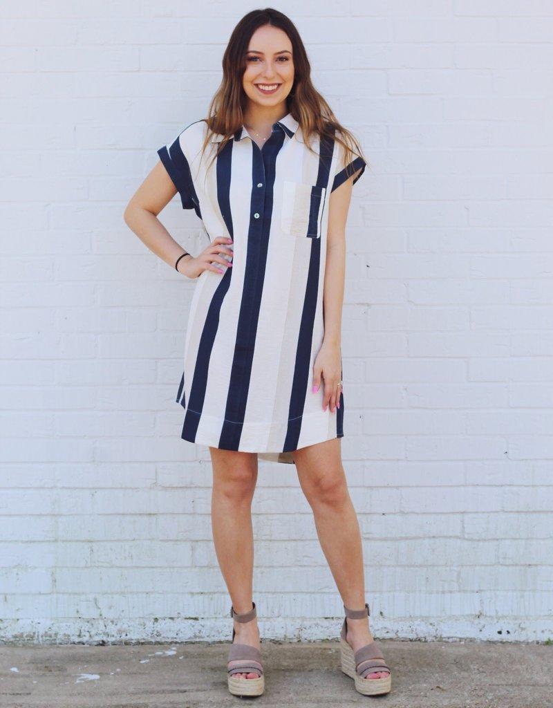 Seeing Stripes Dress