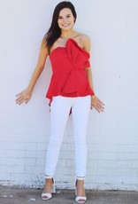 RED-Y For Fun Top