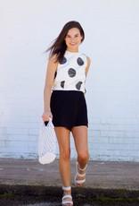 Harper Skirt Skort Black