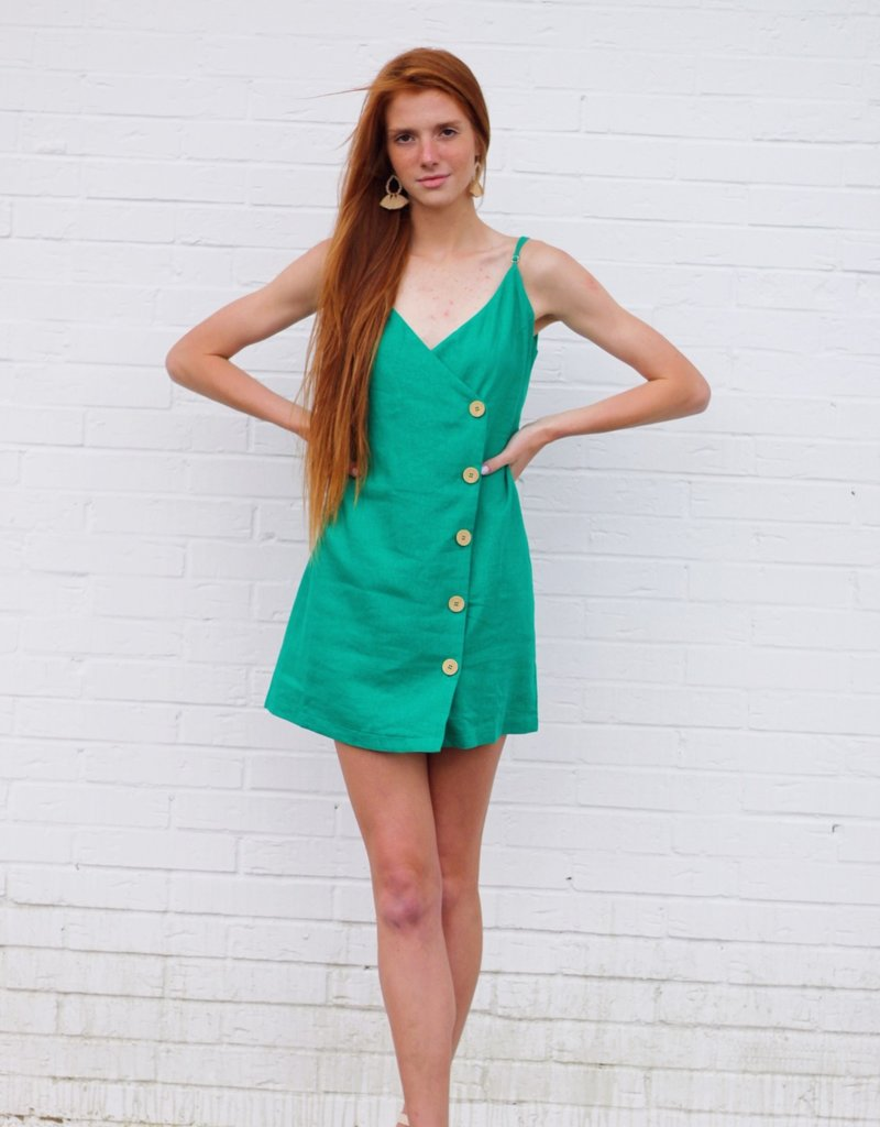 Emerald Coast Dress Green