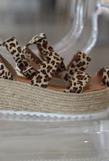 Luv Fashion Emma Leopard Flatform