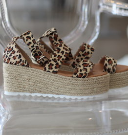 Luv Fashion Emma Leopard Flatform