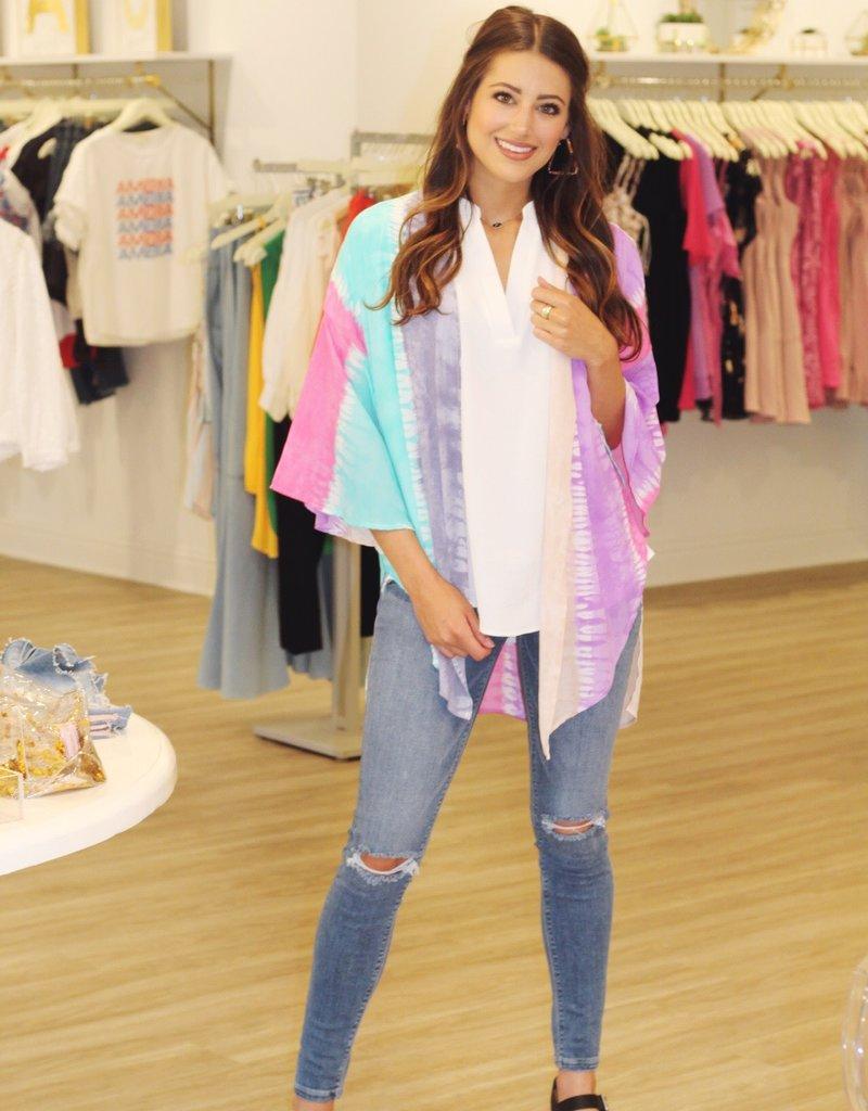 Woodstock Kimono Pink