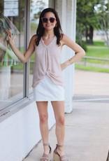 Parker Stretch Skirt Off White