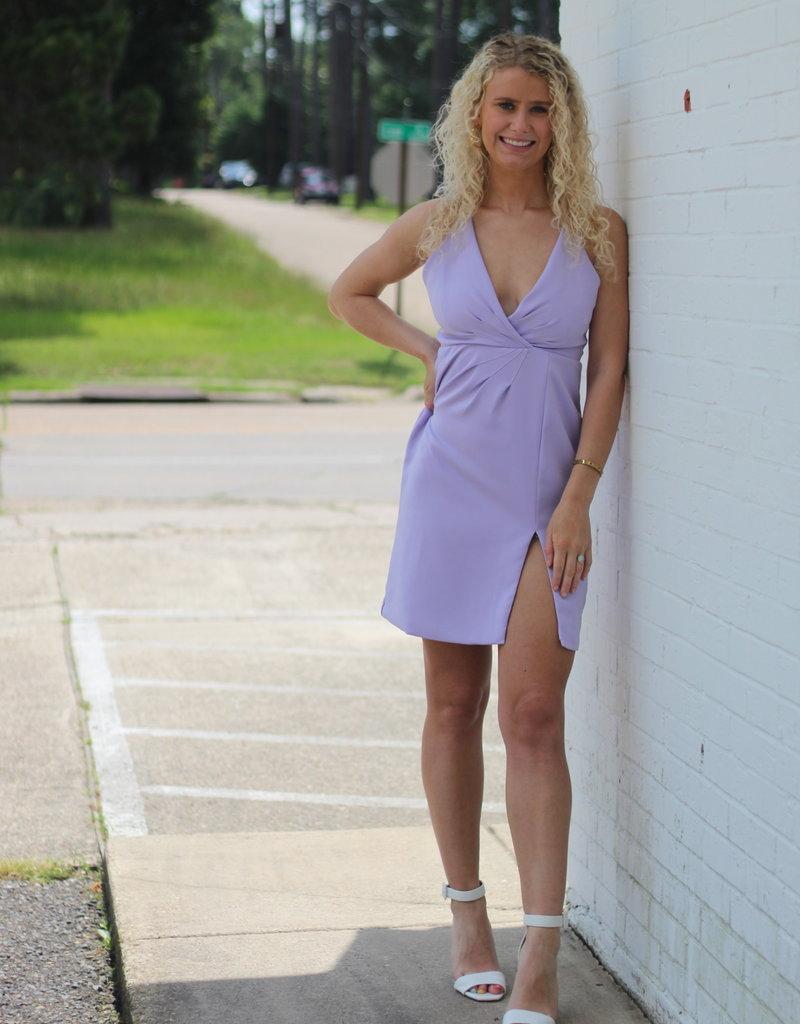 Lovely in Lavender Dress