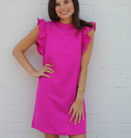 With Love Dress Magenta