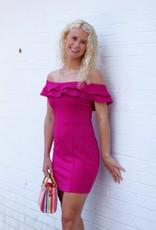 Mink Pink Zali Dress Fuschia