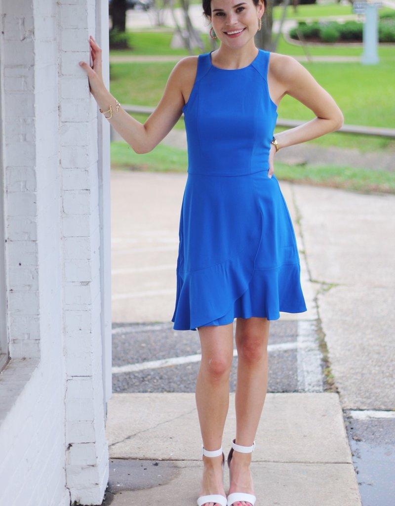 Adelyn Rae Santorini Dress Blue
