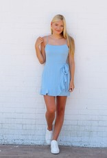 ABEAUTY BY BNB Wrap It Up Chambray Dress